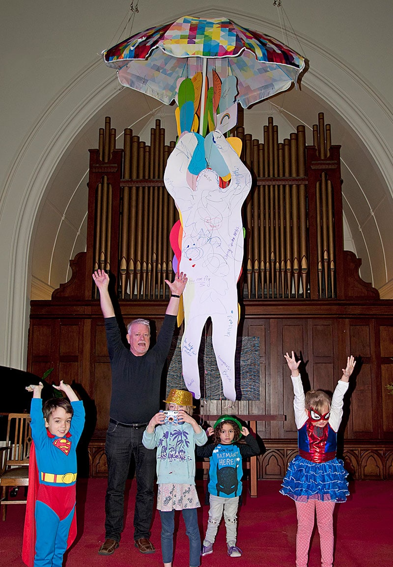 Messy Church – We can be heroes!