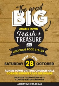 Adamstown Trash and Treasure poster