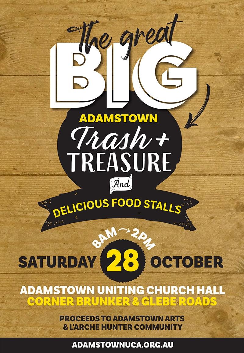 Adamstown Trash and Treasure poster