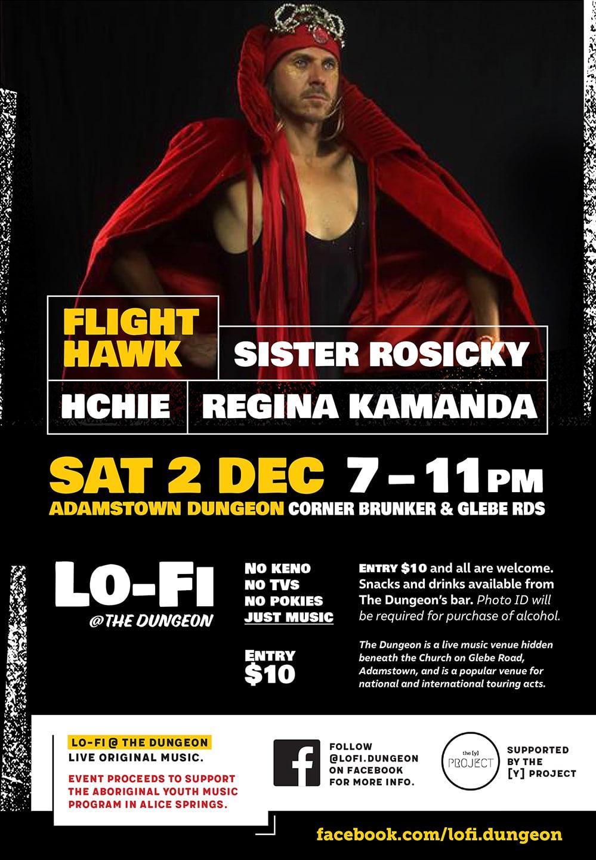 Lo-Fi event poster