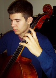 Ben Crosby on Cello