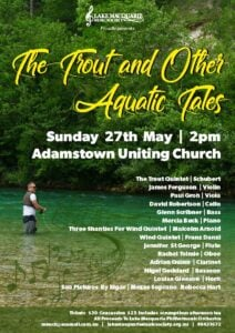 The Trout and Other Aquatic Tales concert