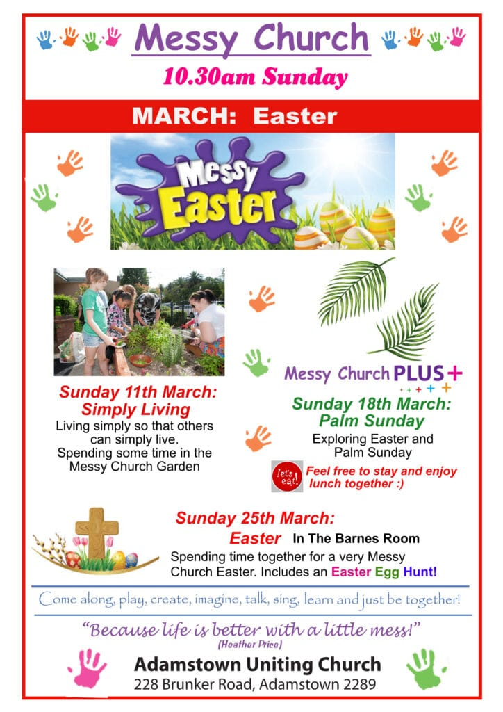 Messy March – Easter -