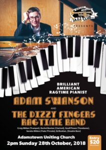 Jazz Club Ragtime A4 poster