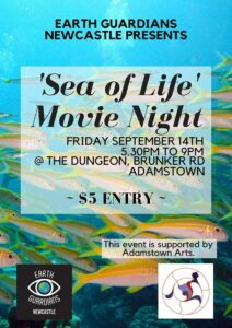 Sea of Life Movie Night poster