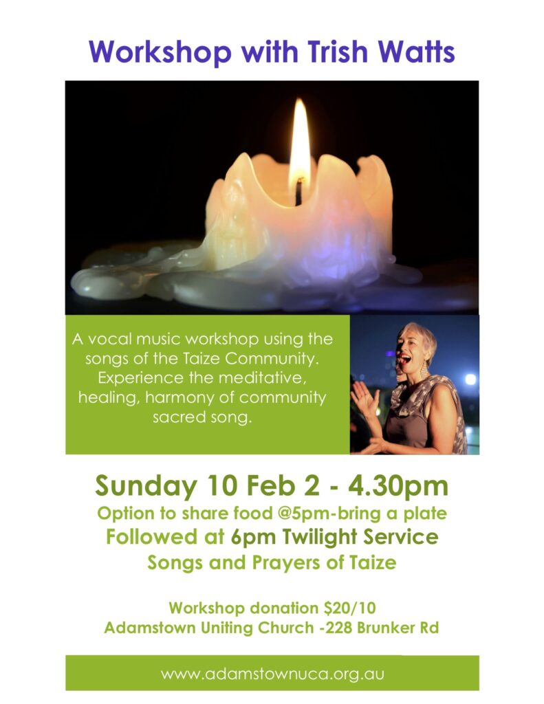 Taize Vocal Music Workshop -