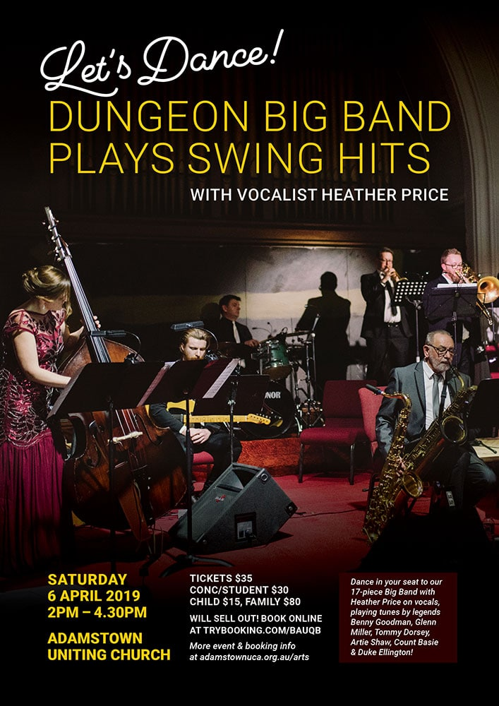 Dungeon Big Band plays Swing hits