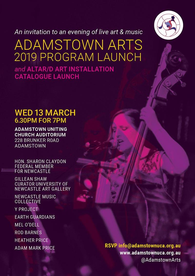 Adamstown Arts 2019 Program launch