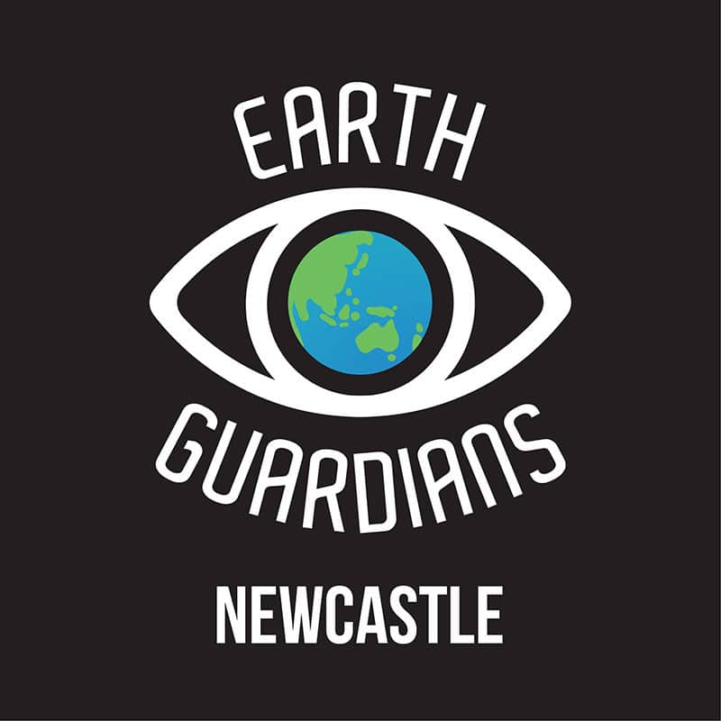 Earth Guardians Newcastle logo