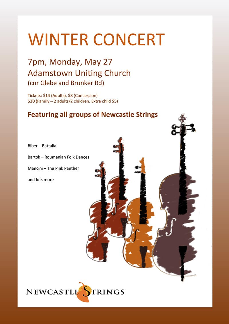 Newcastle Strings Winter Concert