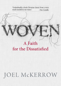 Book cover of 'Woven' by Joel McKerrow