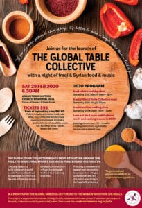 Global Table Collective flier