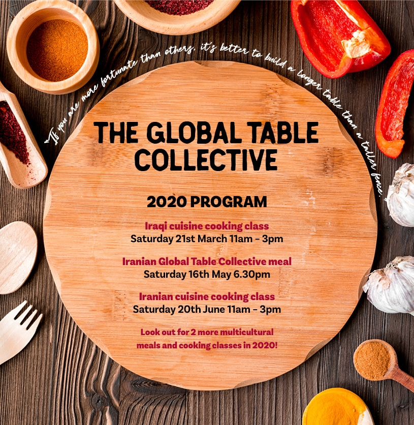 Global table collective program